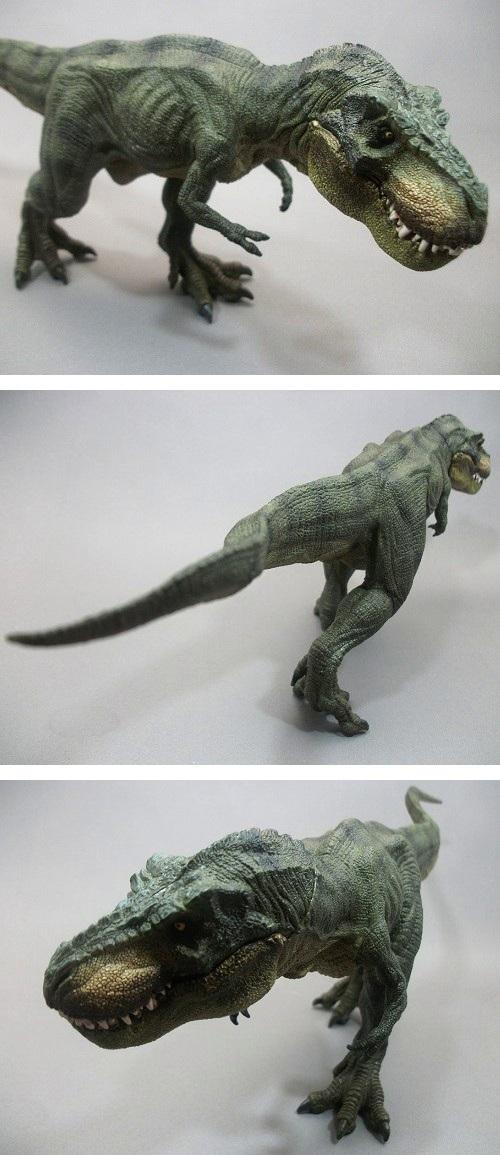PAPO(パポ社)/ティラノサウルス(T.レックス 緑) レビュー_f0205396_20443362.jpg