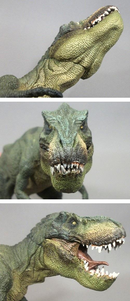 PAPO(パポ社)/ティラノサウルス(T.レックス 緑) レビュー_f0205396_20452464.jpg