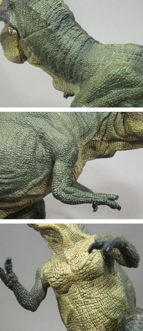 PAPO(パポ社)/ティラノサウルス(T.レックス 緑) レビュー_f0205396_204613100.jpg
