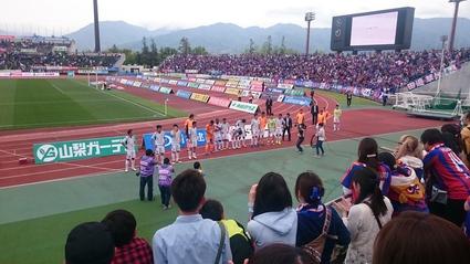2016JリーグDivision1 1stステージ第8節 ヴァンフォーレ甲府 - FC東京_b0042308_2345723.jpg