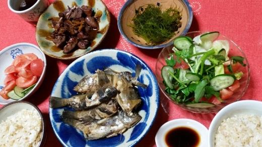 国東Life 夷谷温泉 海の幸_f0208315_21585139.jpg