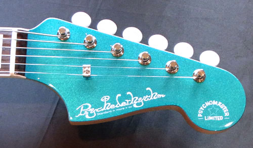 「Hot Rod Teal MetaのPsychomaster 1本目」が完成。_e0053731_15114282.jpg
