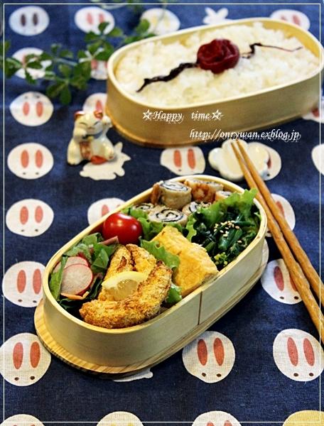 磯辺の肉巻き弁当と常備菜♪_f0348032_18124017.jpg