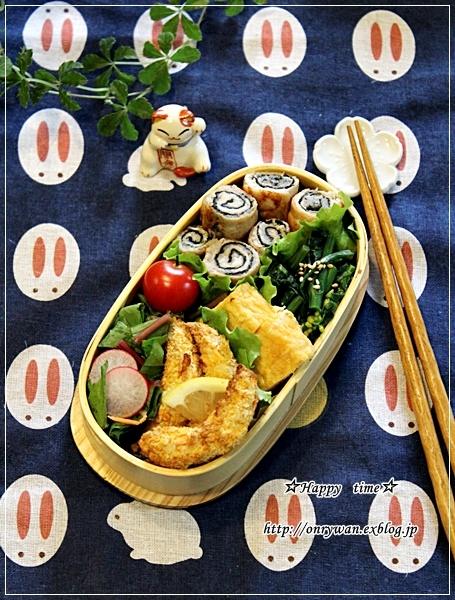 磯辺の肉巻き弁当と常備菜♪_f0348032_18125068.jpg