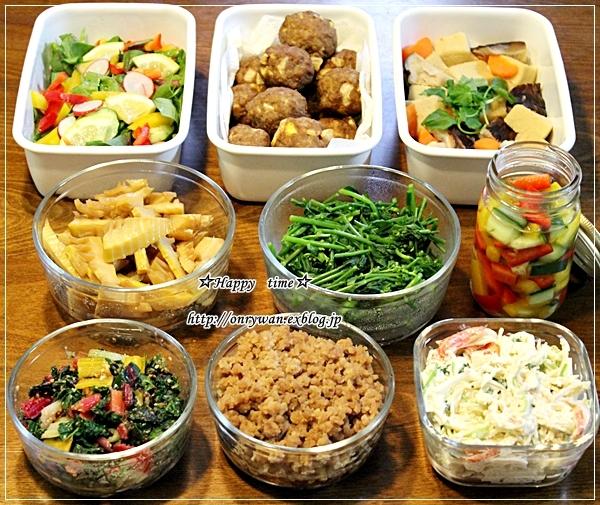 磯辺の肉巻き弁当と常備菜♪_f0348032_18130839.jpg