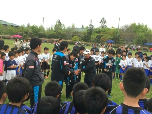 U12  ガンバ大阪Jr  と コラボ_f0138335_17405691.jpg