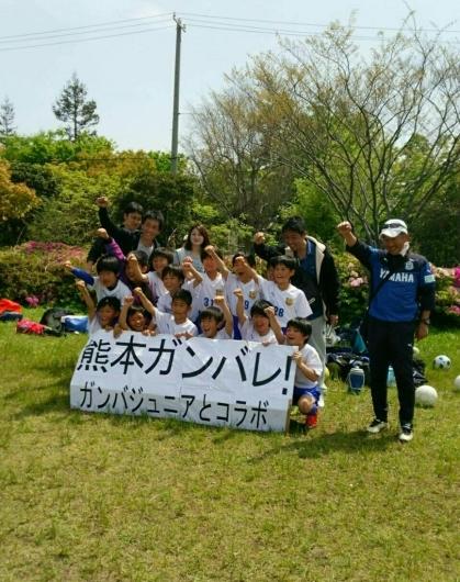 U11  ガンバ大阪Jr と コラボ 2日目_f0138335_22363919.jpg