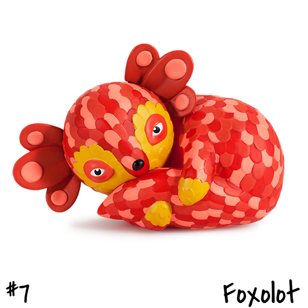 Horrible Adorables : Foxolot by Jordan Elise_e0118156_0372456.jpg