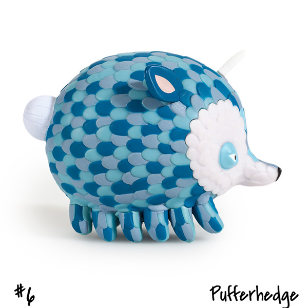 Horrible Adorables : Pufferhedge by Jordan Elise_e0118156_053338.jpg
