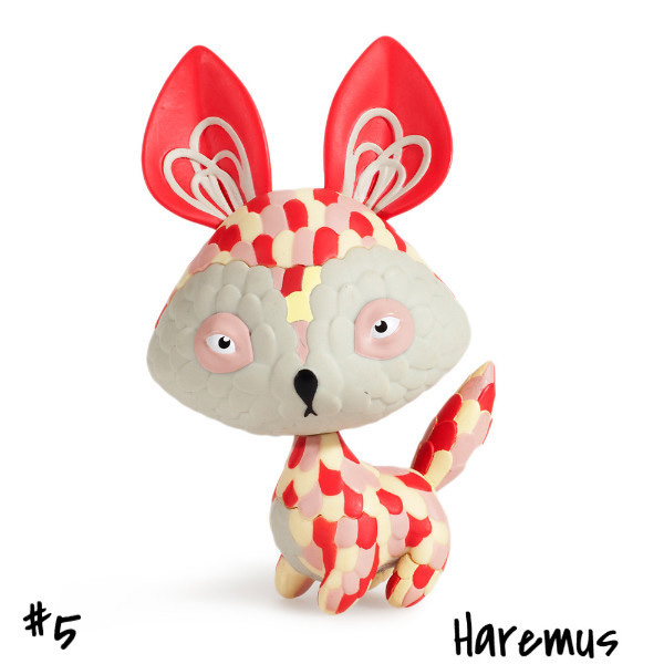 Horrible Adorables : Haremus by Jordan Elise_e0118156_0555495.jpg