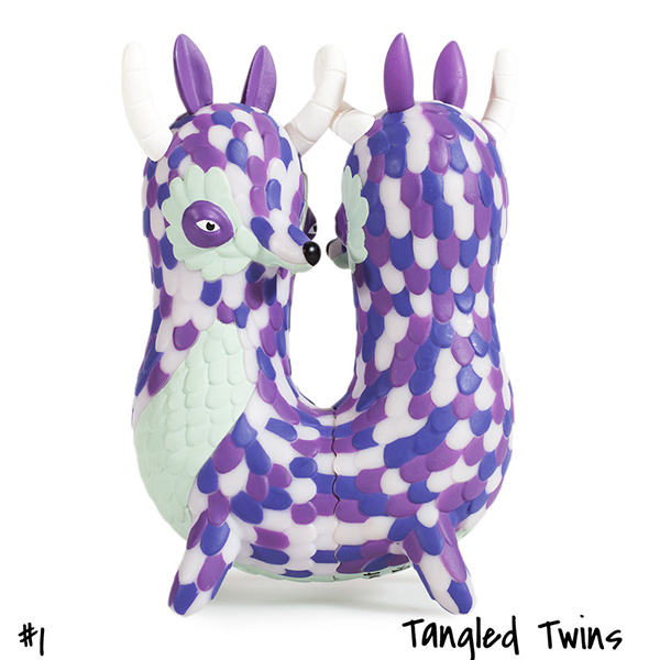 Horrible Adorables : Tangle Twins by Jordan Elise_e0118156_1123292.jpg