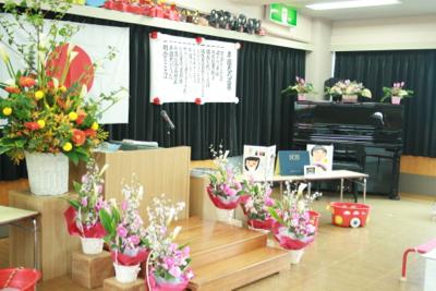 保育園 卒園式♫_e0149863_21343438.jpg