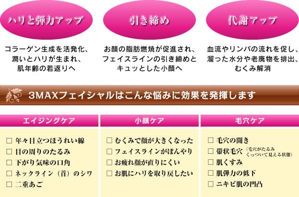 3MAXフェイシャル♪_c0301975_1242473.jpg