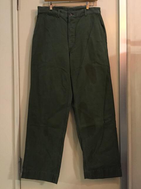 4月27日(水)大阪店ヴィンテージ入荷!#1 ミリタリー編!1910\'s EURO Linen HBT Pants!! _c0078587_18501493.jpg