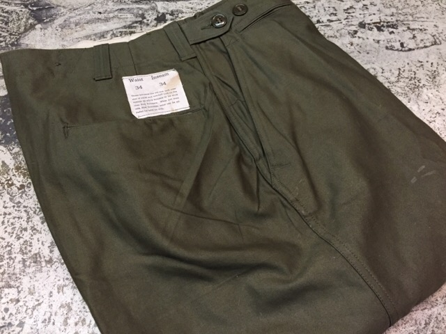 4月27日(水)大阪店ヴィンテージ入荷!#1 ミリタリー編!1910\'s EURO Linen HBT Pants!! _c0078587_19171576.jpg