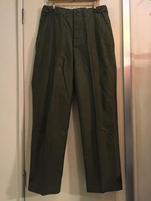 4月27日(水)大阪店ヴィンテージ入荷!#1 ミリタリー編!1910\'s EURO Linen HBT Pants!! _c0078587_19172573.jpg