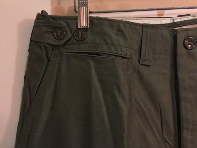 4月27日(水)大阪店ヴィンテージ入荷!#1 ミリタリー編!1910\'s EURO Linen HBT Pants!! _c0078587_19181137.jpg
