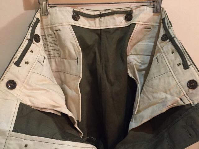 4月27日(水)大阪店ヴィンテージ入荷!#1 ミリタリー編!1910\'s EURO Linen HBT Pants!! _c0078587_19183694.jpg