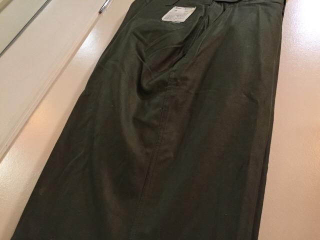 4月27日(水)大阪店ヴィンテージ入荷!#1 ミリタリー編!1910\'s EURO Linen HBT Pants!! _c0078587_1919033.jpg