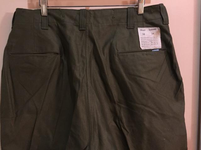 4月27日(水)大阪店ヴィンテージ入荷!#1 ミリタリー編!1910\'s EURO Linen HBT Pants!! _c0078587_19191953.jpg