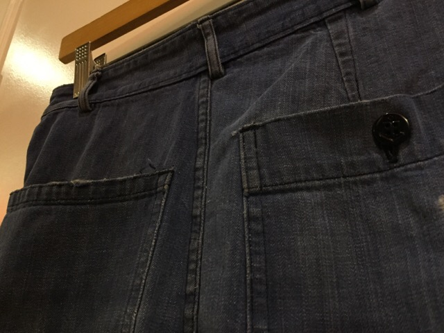 4月27日(水)大阪店ヴィンテージ入荷!#1 ミリタリー編!1910\'s EURO Linen HBT Pants!! _c0078587_1944413.jpg