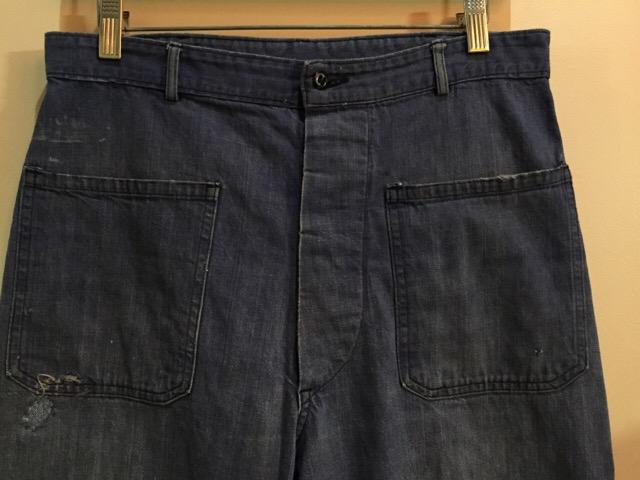 4月27日(水)大阪店ヴィンテージ入荷!#1 ミリタリー編!1910\'s EURO Linen HBT Pants!! _c0078587_19445685.jpg