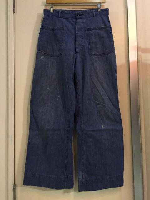 4月27日(水)大阪店ヴィンテージ入荷!#1 ミリタリー編!1910\'s EURO Linen HBT Pants!! _c0078587_1944681.jpg