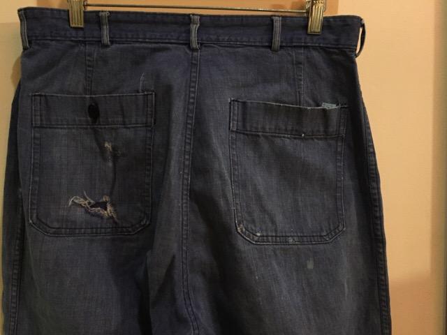 4月27日(水)大阪店ヴィンテージ入荷!#1 ミリタリー編!1910\'s EURO Linen HBT Pants!! _c0078587_19453677.jpg