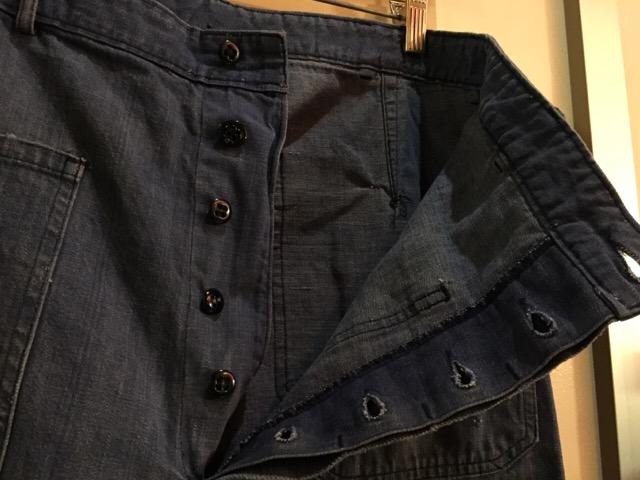4月27日(水)大阪店ヴィンテージ入荷!#1 ミリタリー編!1910\'s EURO Linen HBT Pants!! _c0078587_1945823.jpg