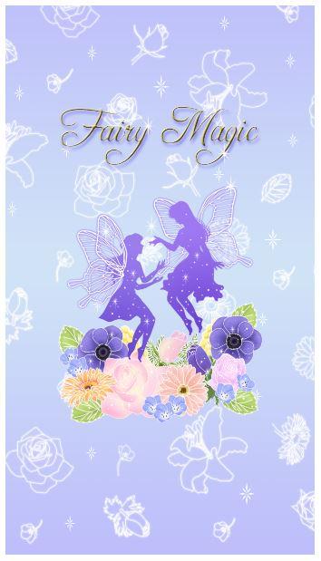 LINEの着せ替え Fairy Magic フェアリー・マジック 人気ランキング27位_f0186787_11334795.jpg