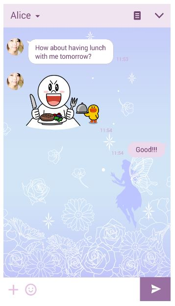 LINEの着せ替え Fairy Magic フェアリー・マジック 人気ランキング27位_f0186787_11353418.jpg