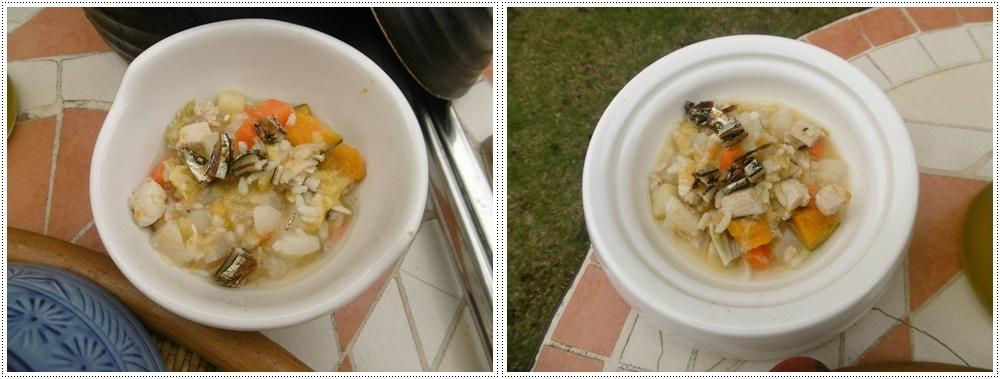 今年初めてのお庭BBQ、2わんずも美味しかったね~_b0175688_21242120.jpg