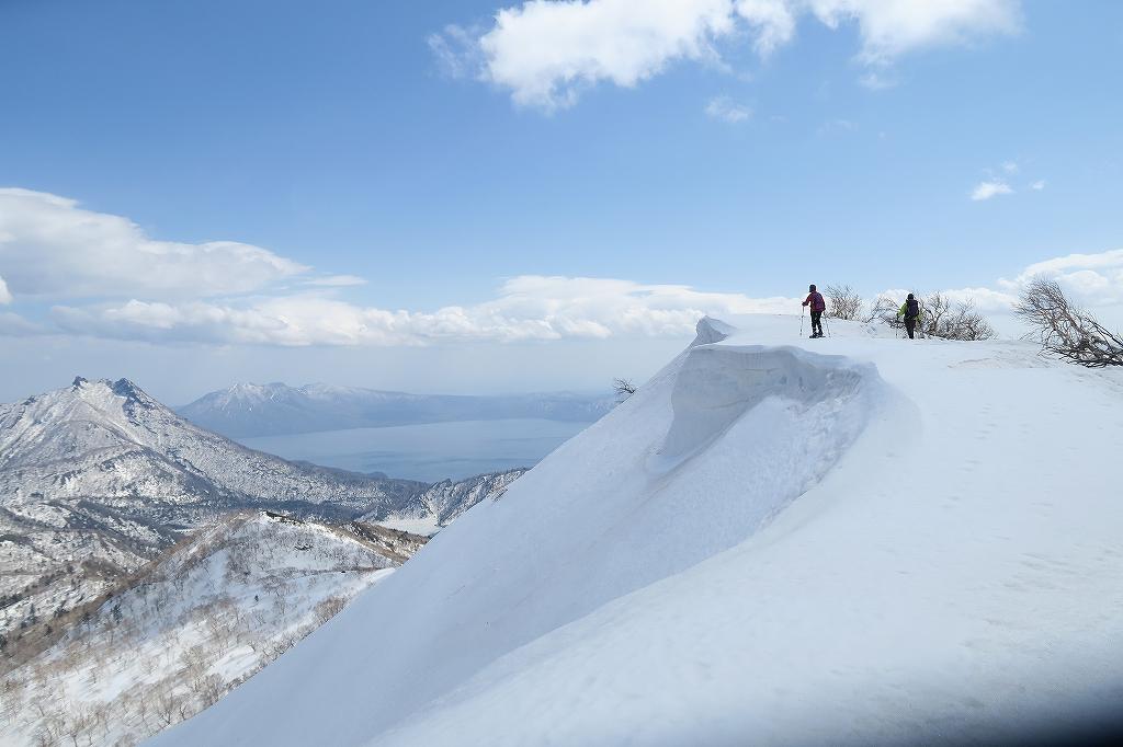 漁岳と北漁岳、4月24日-速報版-_f0138096_17433938.jpg