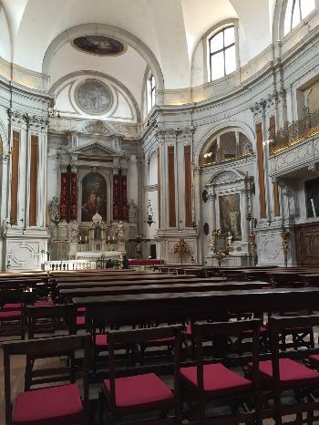 ヴェネツィア † サンタ・マリーア・デッラ・ピエタ教会_c0203401_3351656.jpg