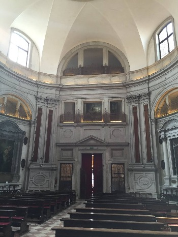 ヴェネツィア † サンタ・マリーア・デッラ・ピエタ教会_c0203401_337688.jpg