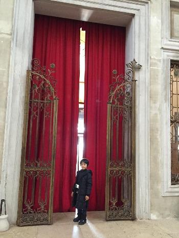 ヴェネツィア † サンタ・マリーア・デッラ・ピエタ教会_c0203401_3384635.jpg