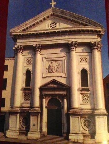 ヴェネツィア † サンタ・マリーア・デッラ・ピエタ教会_c0203401_3482973.jpg