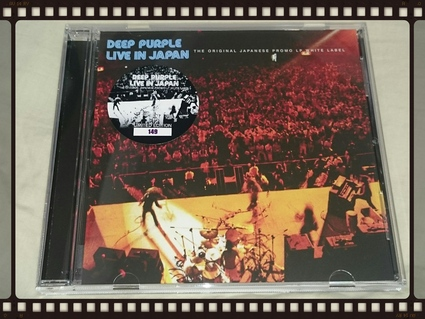 DEEP PURPLE / LIVE IN JAPAN THE ORIGINAL JAPANESE PROMO LP WHITE LABEL_b0042308_1752451.jpg