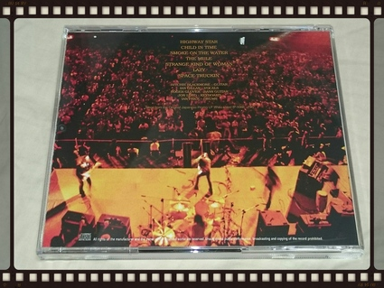 DEEP PURPLE / LIVE IN JAPAN THE ORIGINAL JAPANESE PROMO LP WHITE LABEL_b0042308_175294.jpg
