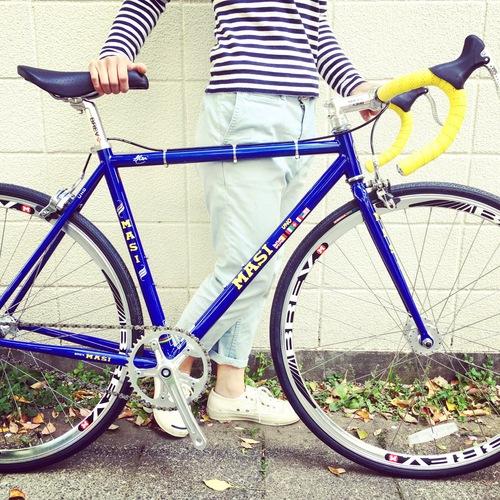 2016 MASI FIXED UNO DROP NEO ピスト クロモリ おしゃれ自転車 自転車女子 自転車ガール_b0212032_17595752.jpg