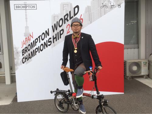 BROMPTON WORLD CHAMPIONSHIP JAPAN 2016 2_d0197762_21375298.jpg