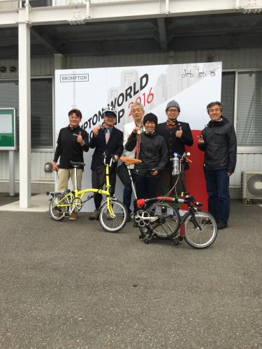BROMPTON WORLD CHAMPIONSHIP JAPAN 2016 2_d0197762_21375449.jpg