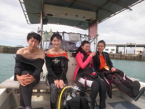 今日は真栄田岬でダイビング!!_a0156273_20464011.jpg