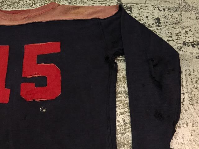 4月27日(水)大阪店ヴィンテージ入荷!#2 ヴィンテージアスレチック編!30\'s~70\'sRayonFootballT-Shirt!! _c0078587_13204819.jpg