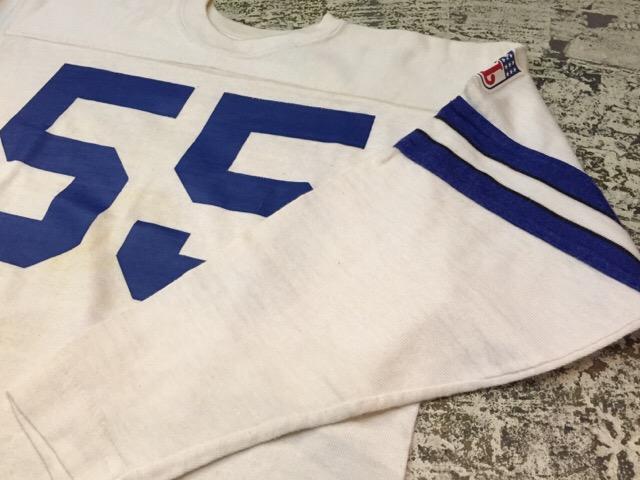 4月27日(水)大阪店ヴィンテージ入荷!#2 ヴィンテージアスレチック編!30\'s~70\'sRayonFootballT-Shirt!! _c0078587_13245780.jpg