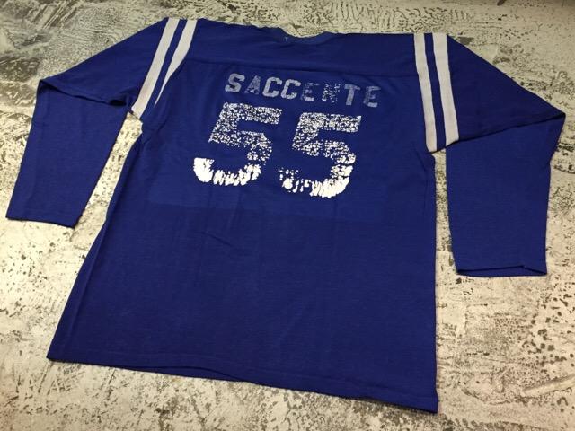 4月27日(水)大阪店ヴィンテージ入荷!#2 ヴィンテージアスレチック編!30\'s~70\'sRayonFootballT-Shirt!! _c0078587_13263897.jpg