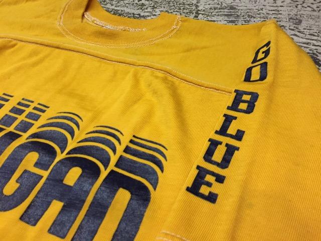 4月27日(水)大阪店ヴィンテージ入荷!#2 ヴィンテージアスレチック編!30\'s~70\'sRayonFootballT-Shirt!! _c0078587_13285237.jpg