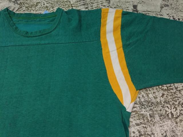4月27日(水)大阪店ヴィンテージ入荷!#2 ヴィンテージアスレチック編!30\'s~70\'sRayonFootballT-Shirt!! _c0078587_13301433.jpg