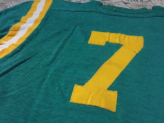 4月27日(水)大阪店ヴィンテージ入荷!#2 ヴィンテージアスレチック編!30\'s~70\'sRayonFootballT-Shirt!! _c0078587_13303558.jpg