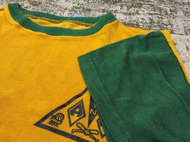 4月27日(水)大阪店ヴィンテージ入荷!#2 ヴィンテージアスレチック編!30\'s~70\'sRayonFootballT-Shirt!! _c0078587_13404857.jpg